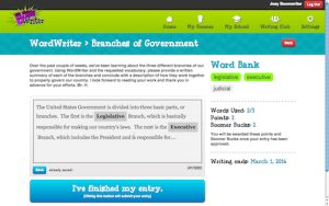 WordWriter Interactive Vocabulary Development Activities