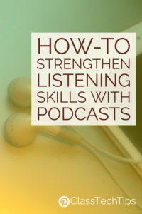 strengthen student listening skills