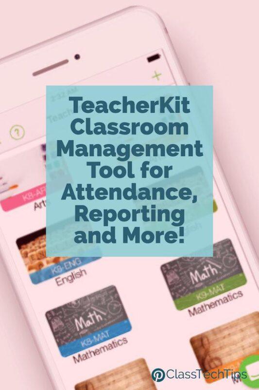 Innovative Classroom Management Tools ~ Teacherkit classroom management tool for attendance