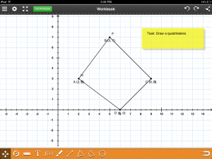 Coordinate Grid for iPads