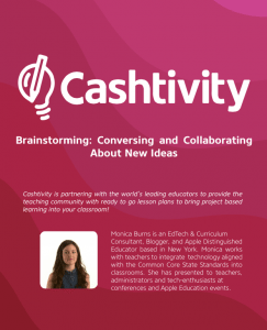 Promote Collaboration with Free Lesson Plans from Cashtivity