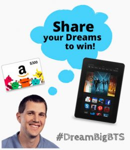 Back-To-School Giveaway from TenMarks' DREAM Big Campaign