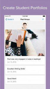 Edusight Notes for iOS: Standards Based Portfolio