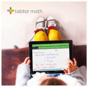 Tabtor Math: Tablet-Based Program + Live Tutor