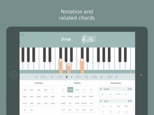 Cheeky Fingers Piano Chord Dictionary App 1