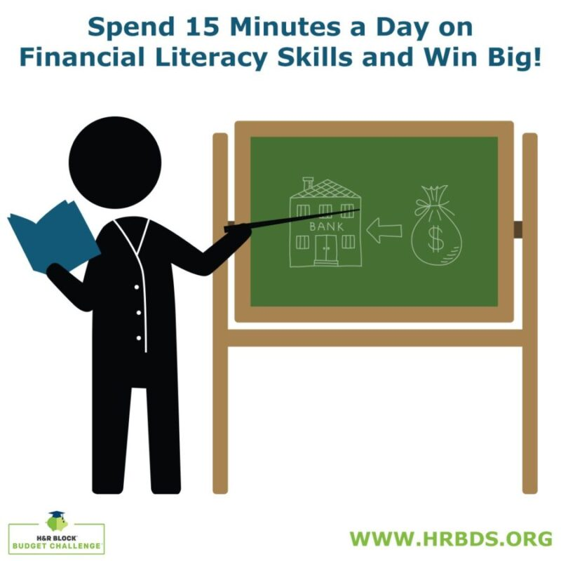 h u0026r block budget challenge and lesson plans for financial