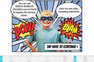 Seedling Comic Studio: Digital Storytelling App