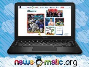 News-O-Matic Now Available for Computers & Chromebooks