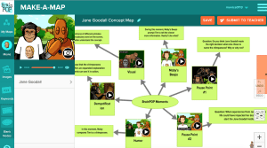 BrainPOP's Make-a-Map Tool Critical Thinking & Creation