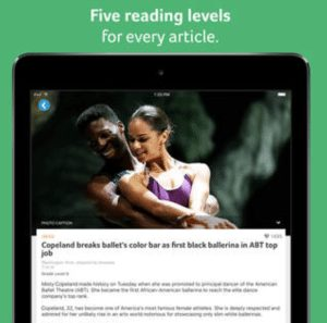 Newsela Brings Leveled Current Events Articles to iPads 1