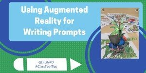 Using Augmented Reality for Writing Prompts