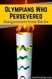Olympians Who Persevered: ELA & Math Practice Assignments from Edcite