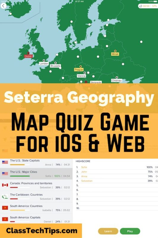 Seterra geography map quiz game for ios web class tech tips gumiabroncs Choice Image