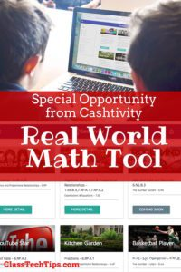 Special Opportunity from Cashtivity - Real World Math Challenge Tool for Teachers