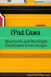 Bluetooth and Backlight Clam Cases for iPads