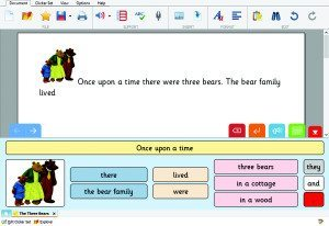 Personalized Literacy Support with Clicker 7