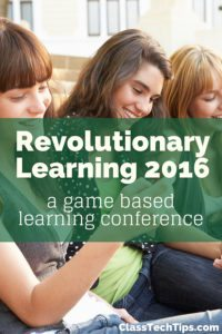 Revolutionary Learning 2016: Alternate Reality Games Conference