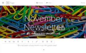 how-to-create-a-class-newsletter-with-spark-page-3
