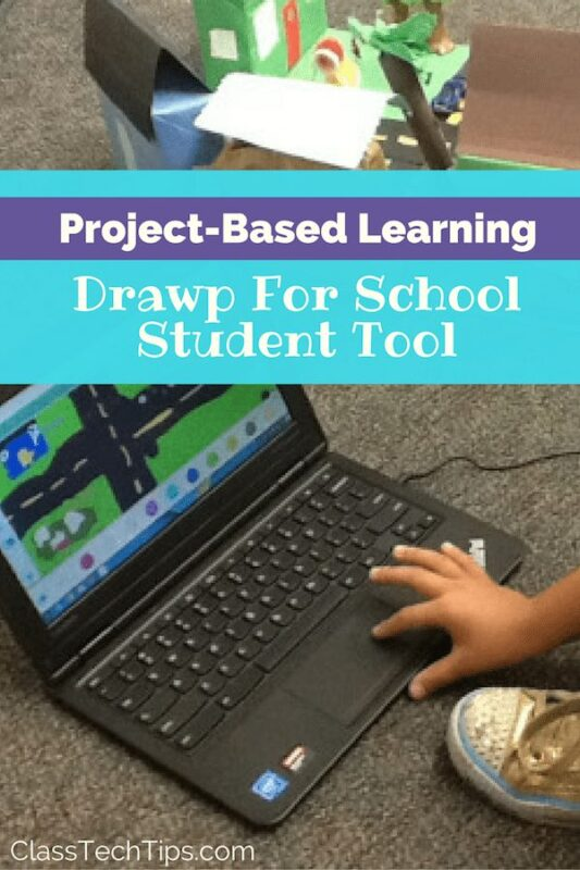 Learn Tools As You Put Them To Use In Projects: Project-Based Learning With Drawp For School Student Tool