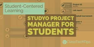 Student-Centered Learning with Studyo Project Manager for Students 2