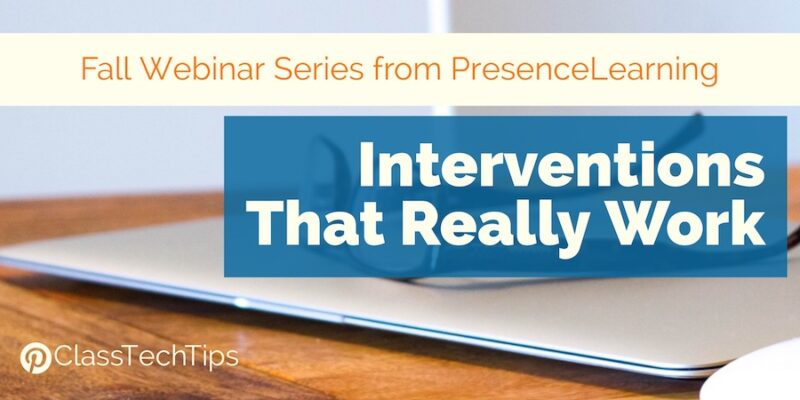 Fall webinar series from presencelearning interventions that really click here to pin this post malvernweather Gallery