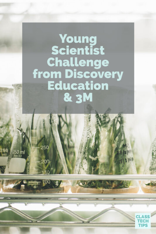 Young Scientist Challenge from Discovery Education & 3M