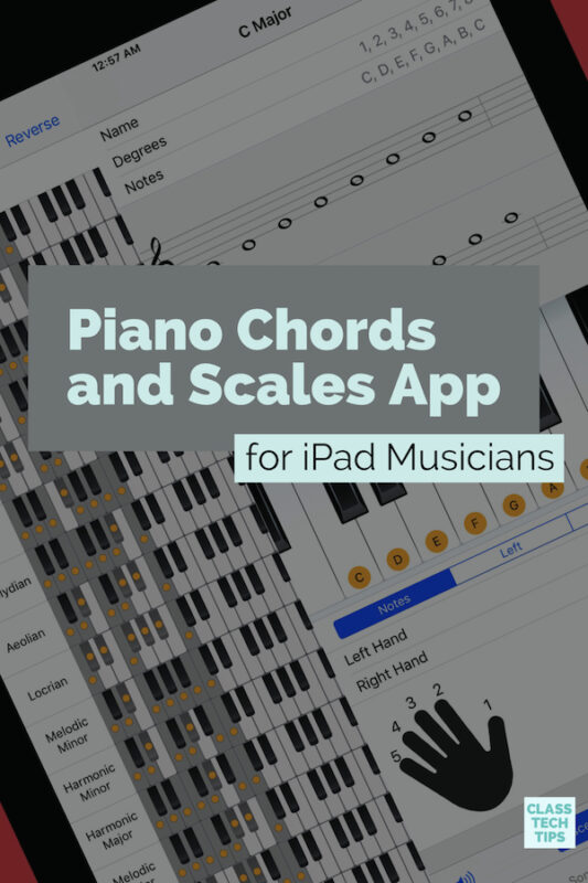 Piano Chords and Scales App