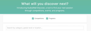 KudosWall Discover a Search Tool for Scholarships and More!