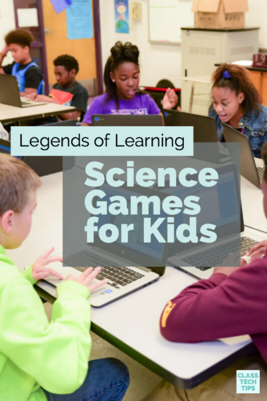 Legends of Learning Science Games for Kids