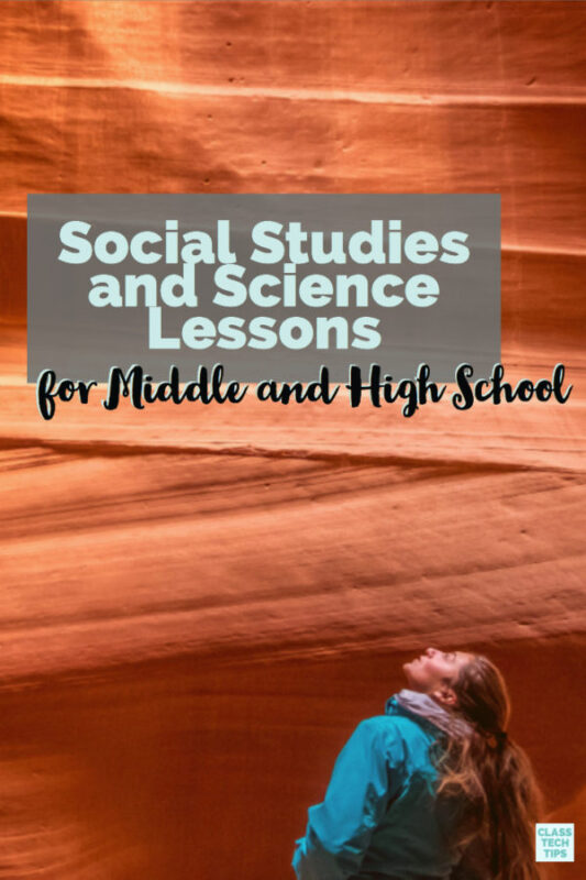 Social Studies and Science Lessons from StudySync a