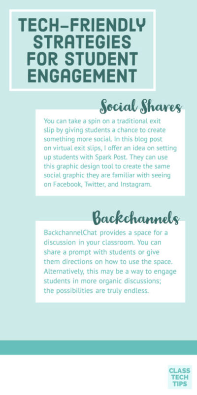 Making a Plan for Student Engagement with Tech-Friendly Strategies