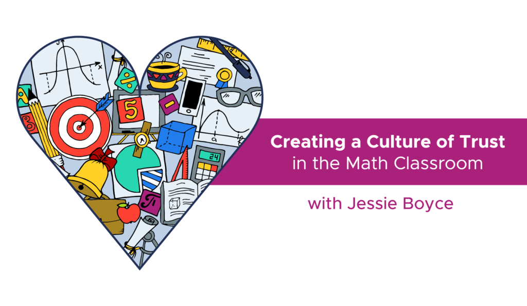 You can learn how to create a postive math culture in your classroom with this new online course from Participate author Jessie Boyce.