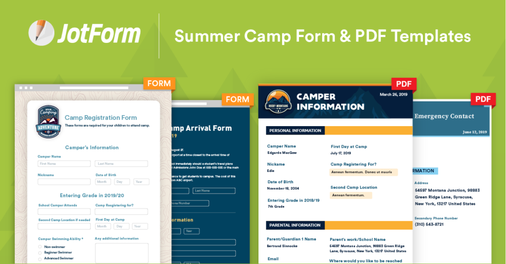 There is a summer camp registration solution to help folks organizing programming this year to make it easy to set up online registration for campers.