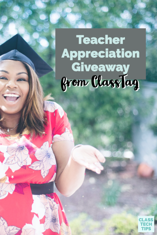 "There is still time to join in a Teacher Appreciation giveaway from my friends at ClassTag. Do you have any ""make it happen"" moments to celebrate teachers?"