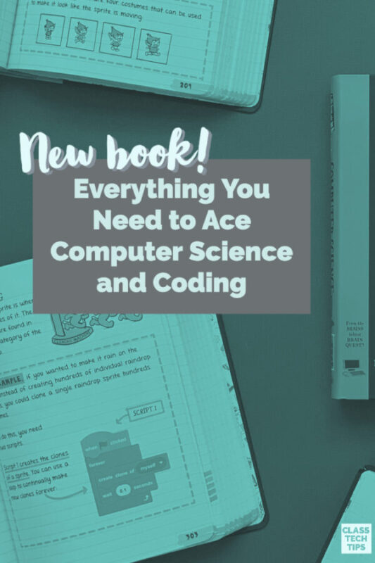 Learn about Everything You Need to Ace Computer Science and Coding in One Big Fat Notebook a study guide for middle schoolers.