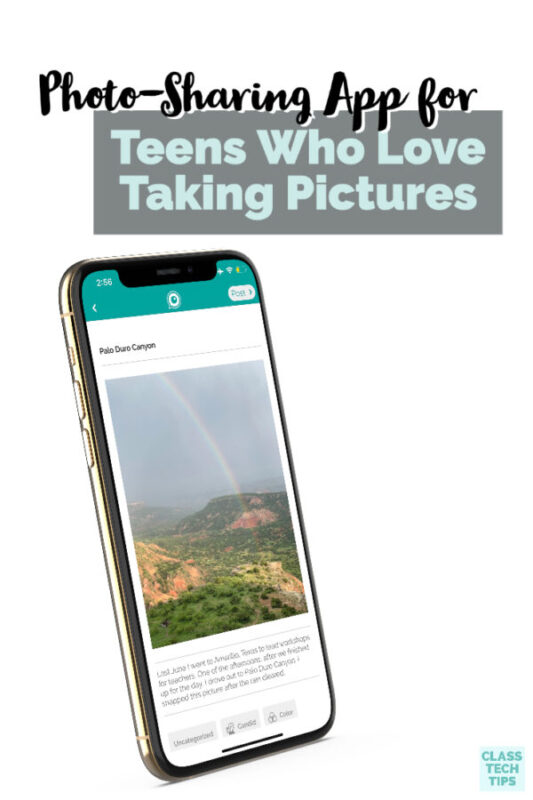 Learn about a new photo-sharing app for teens that is perfect for promoting creativity and photography skills with challenges.