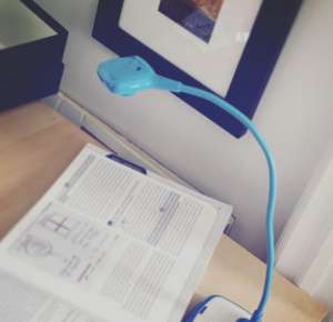 My Hue Document Camera on desk in my home office.