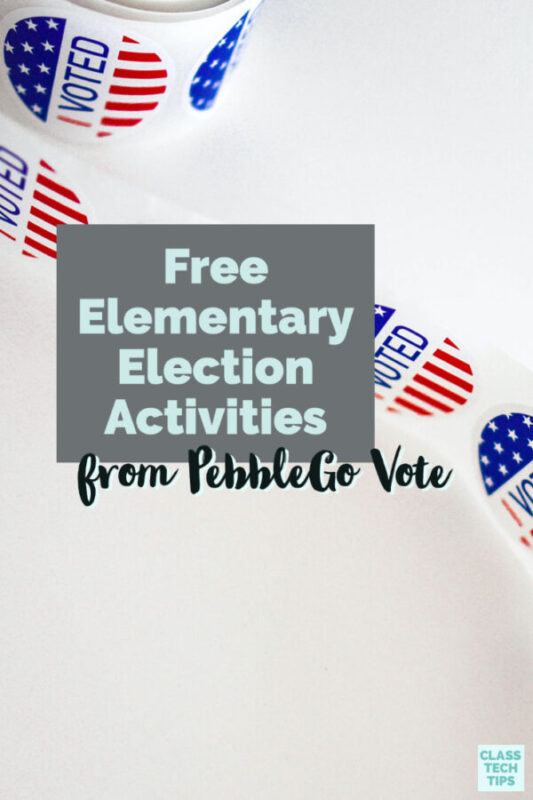If you're considering a conversation around the presidential election, try these free elementary election activities from PebbleGo!