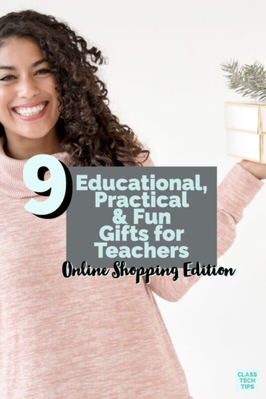In this blog post, I've gone back into the archives to share some of my favorites gifts for teachers that are fun, practical and educational.