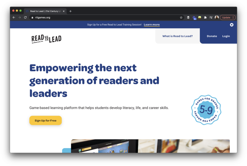 Learn how a unique online platform tackles this idea of elevating and supporting young leaders through literacy skill building activities.