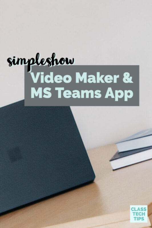 Are you looking for a simple video maker for your students? If you are using Microsoft Teams, try simpleshow and their new integration.