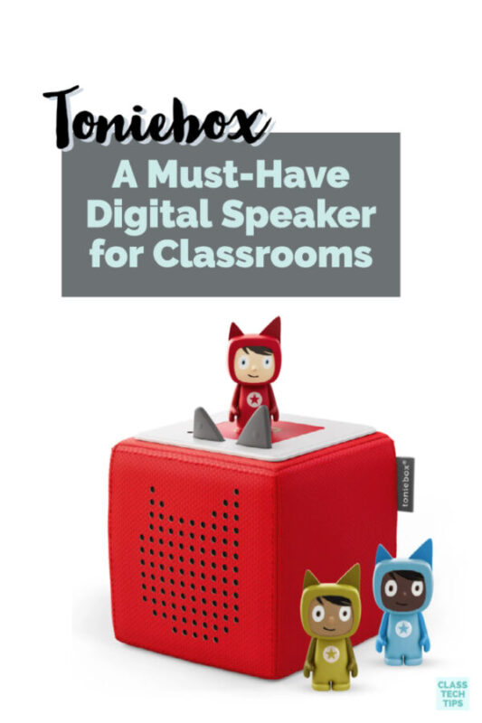 Tonies for Teachers has set up a special program for educators to get a digital speaker for classrooms full of songs and stories.