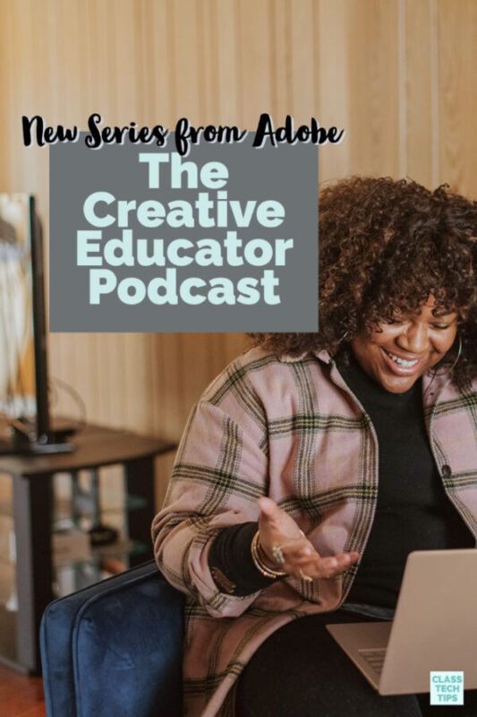 Learn how Adobe Education's new The Creative Educator Podcast offers ideas and inspiration for education.