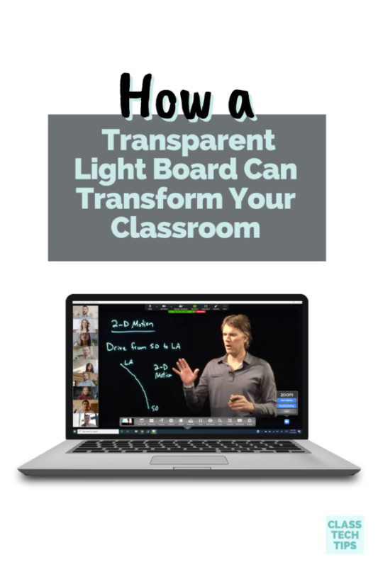 The term transparent light board might not be in your everyday vocabulary, but once you see it in action, it'll be hard to forget it.