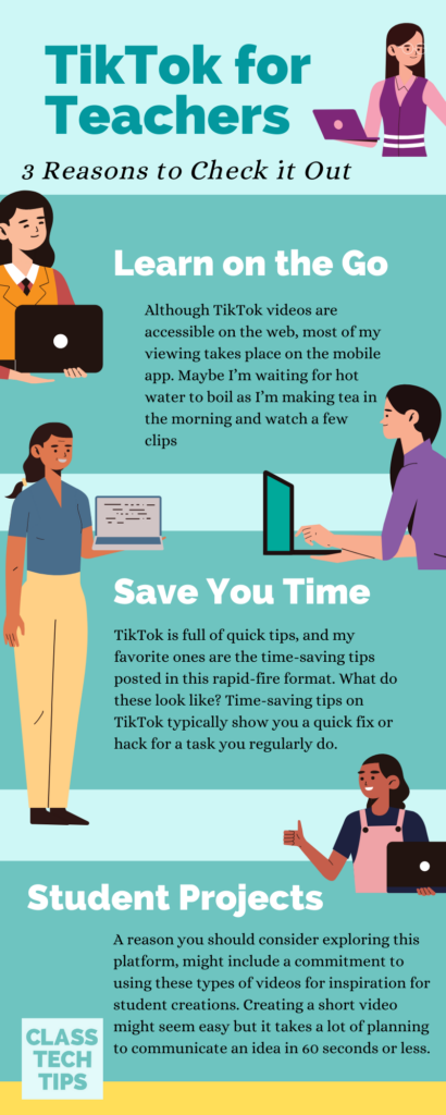 TikTok videos made by educators and for educators are full of helpful information. You can learn on TIkTok, here's how!