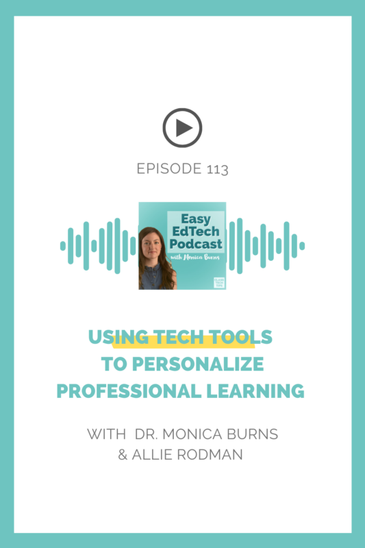 ASCD author Allie Rodman unpacks the term personalized professional learning and shares strategies for setting intentions for your next PD.