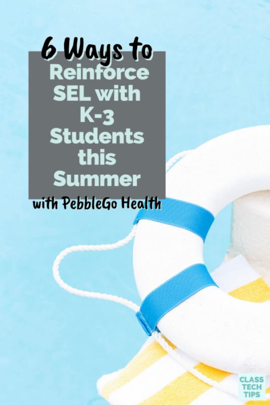 Learn how to reinforce SEL this summer with your elementary readers through the resources in PebbleGo Health from Capstone.