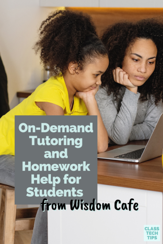 Learn about on-demand tutoring and homework help for students, and an opportunity for teachers to become involved behind the scenes.