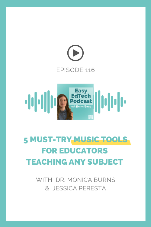 Learn from music educator Jessica Peresta about the very best music tools for teachers.