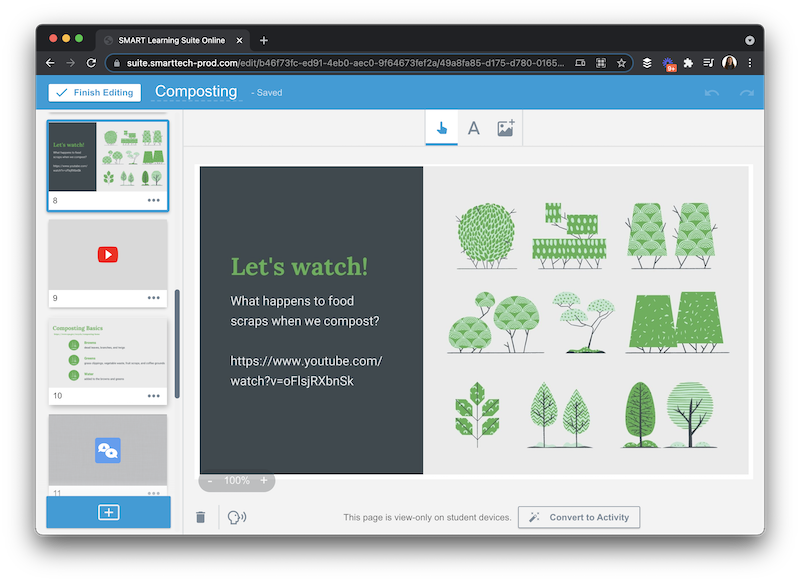 Learn how to build interactive lessons this school year with the SMART Learning Suite Online for formative assessment and student engagement.